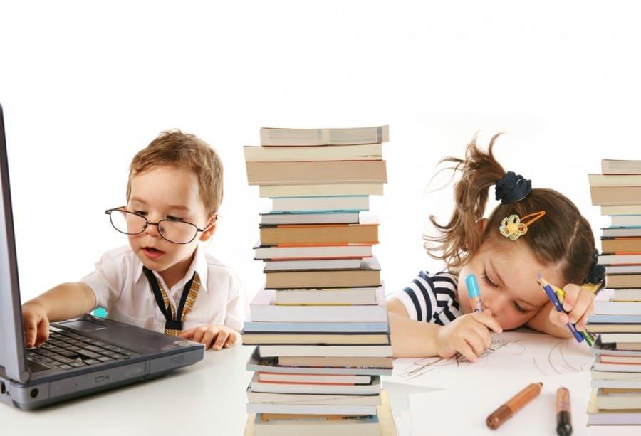 Дети и книги
