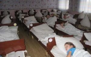 Дети готовятся ко сну
