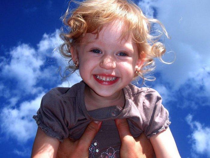 Девочка и небо