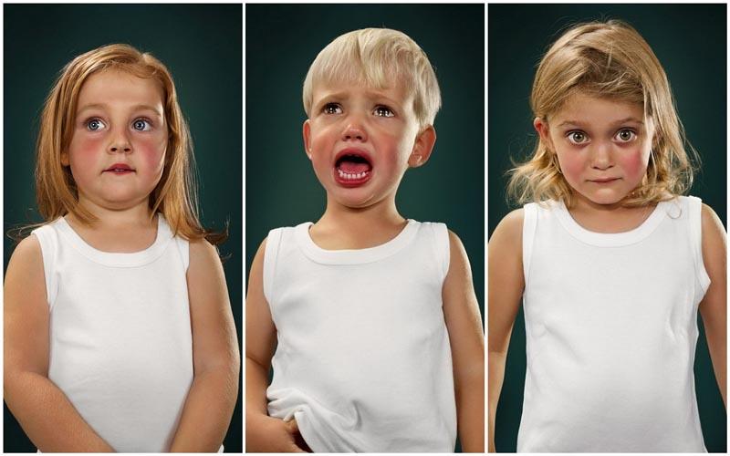 Дети с разными эмоциями