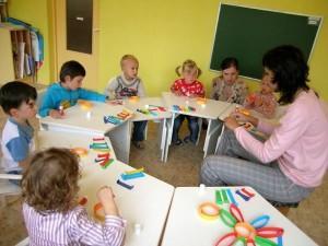 Дети за столиками