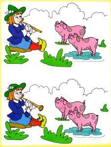 Пастух и две свиньи