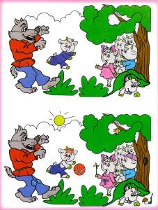 Волк и козлята