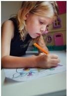 Девочка с ручкой