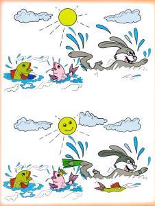 Заяц и солнце