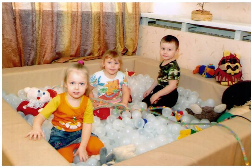Дети в сенсорной комнате