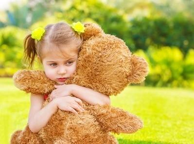 Девочка с медведем
