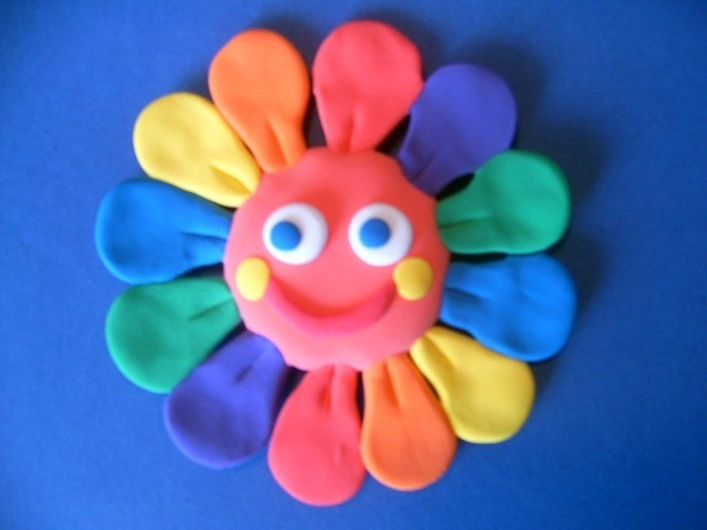 Пластилиновое солнце