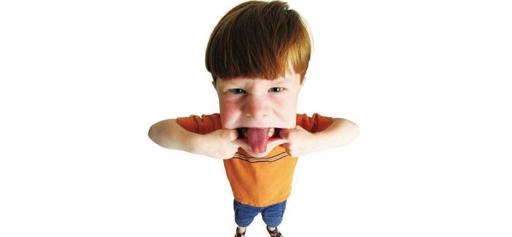 Мальчик с языком