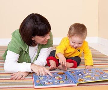 С ребенком за книгой
