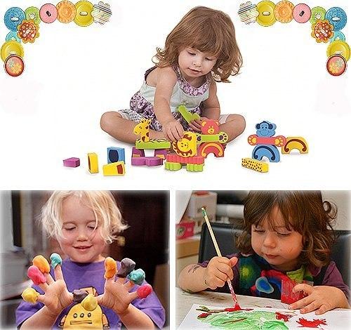 Дети развивают руки
