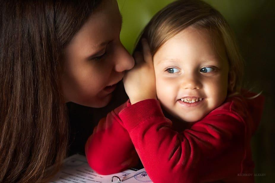 Общение мамы с дочкой