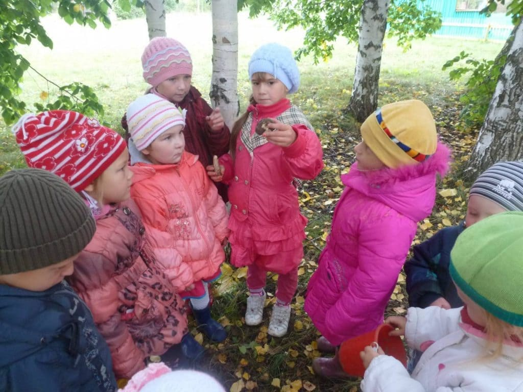 Дети на природе