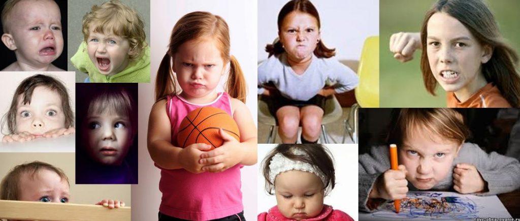 Дети с разными темпераментами