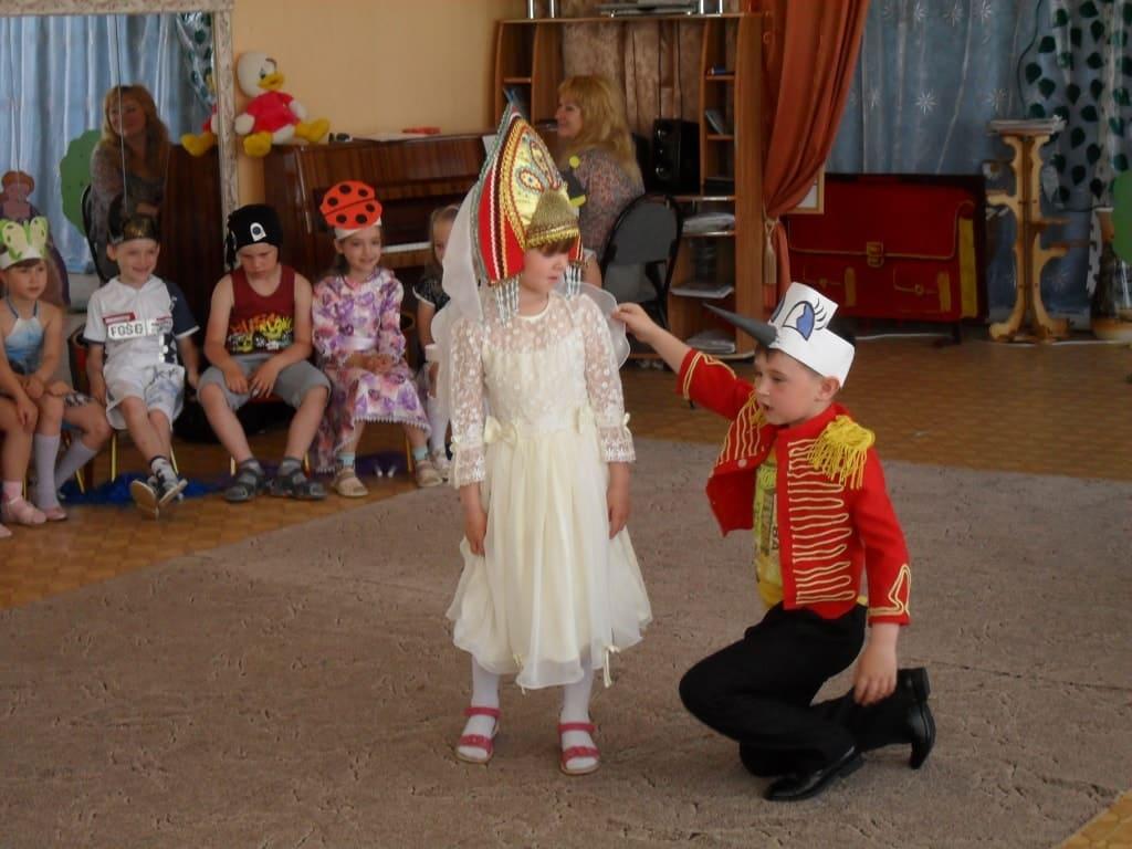 Театральная игра в детском саду