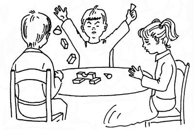 Схема общения дошкольников