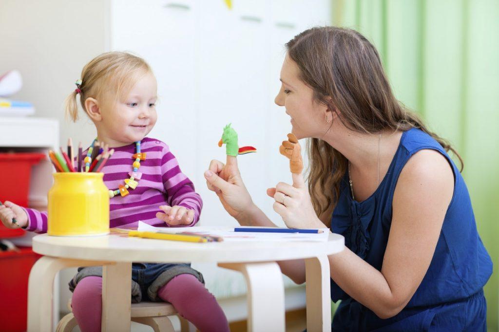 Занятие с ребенком речью