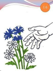Рвет цветы