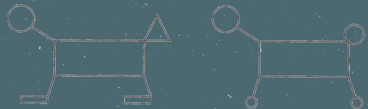 Схема двух фигур