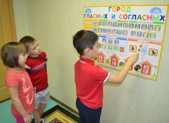 Дети изучают звуки