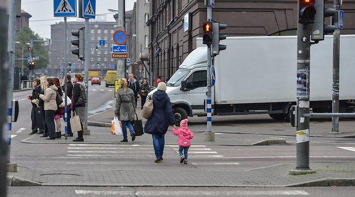 Переход через дорогу