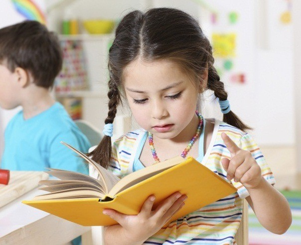 Девочка за чтением