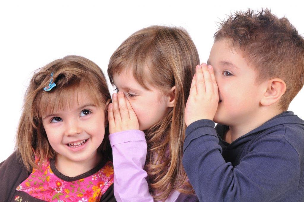 Как общаются дети