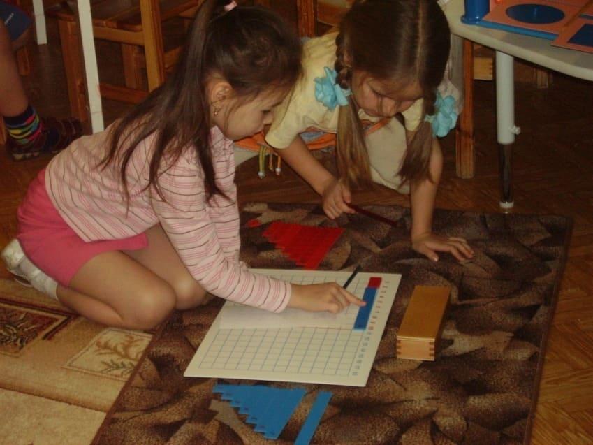 Развитие детей в совместной деятельности