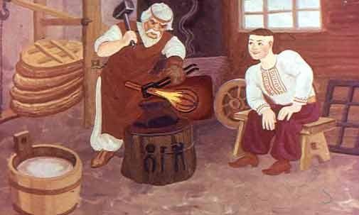 Кузнец и ученик