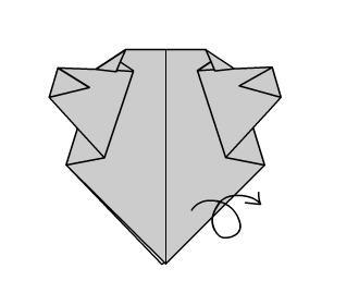 Поделка Мишка шаг 6