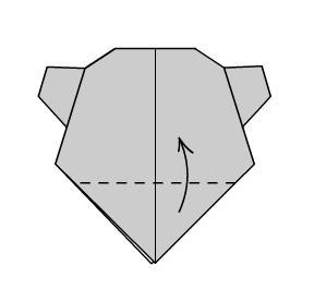 Поделка Мишка шаг 7