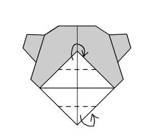 Поделка Мишка шаг 8