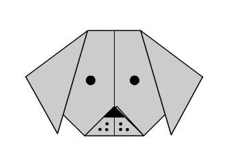 Собака Оригами конец