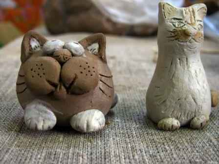 Игрушки из глины