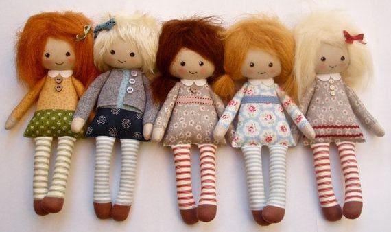 Тканевые куклы