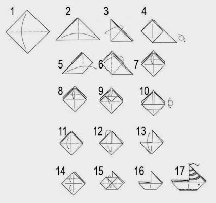 Учим модульному оригами детей дошкольников